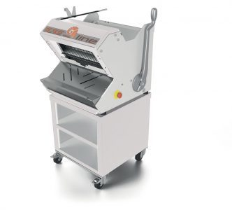 Semiautomatic bread slicers