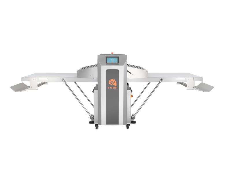 Автоматическая тестораскаточная машина QT670
